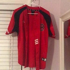 Adidas Boston Red Socks jersey